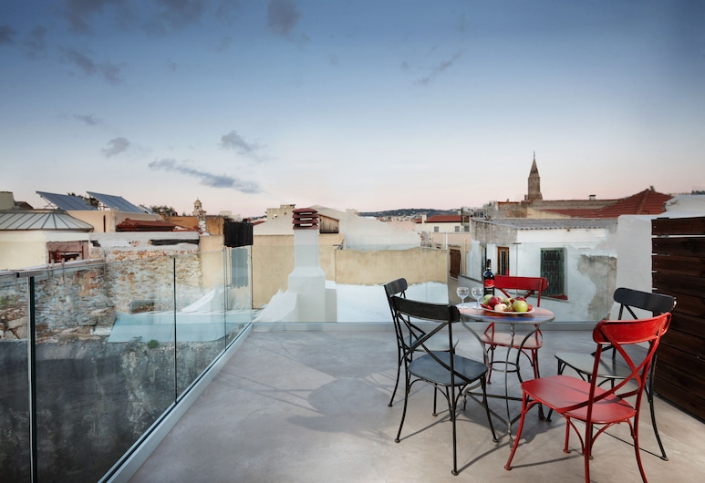 casa perla suites, Chania, Terrace/Patio