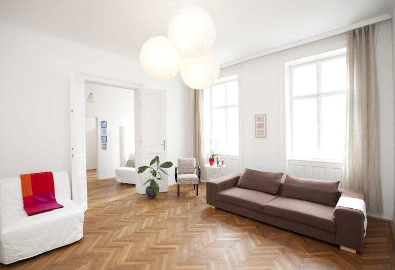 ビエナフラット アパートメンツ, ウィーン, アパートメント (Naschmarkt - Top), リビング エリア