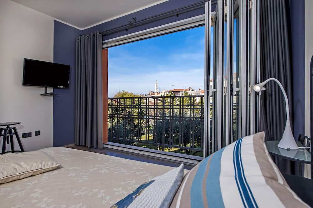 Comfort Στούντιο - Θέα από το μπαλκόνι