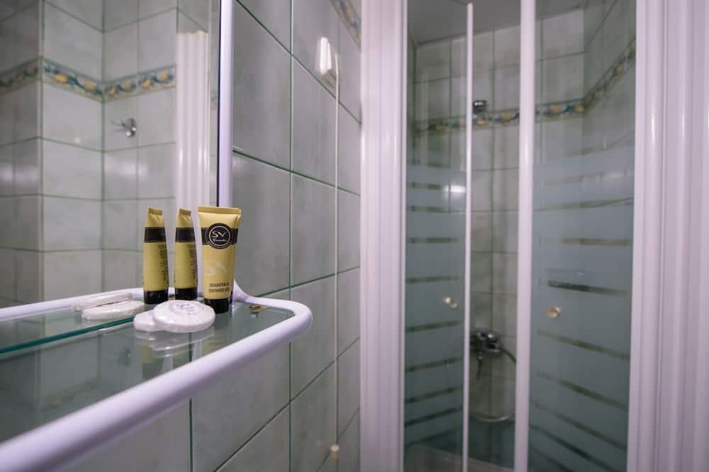 Standard-Doppel- oder -Zweibettzimmer, Seeblick - Badezimmer