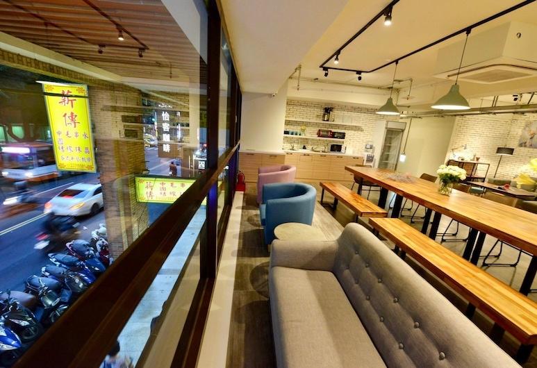 安得國際青年旅館, 台北市, 大堂閒坐區