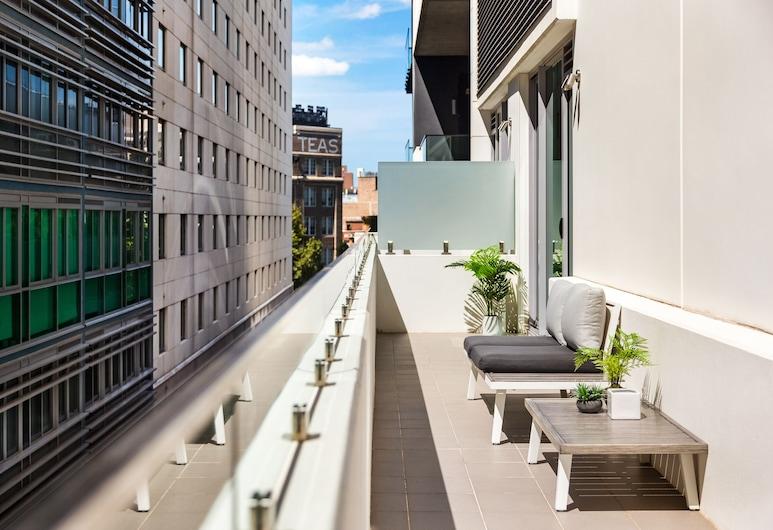 Sydney Alberta Apartments, Sydney, Apartament, 1 sypialnia (602ALB), Balkon