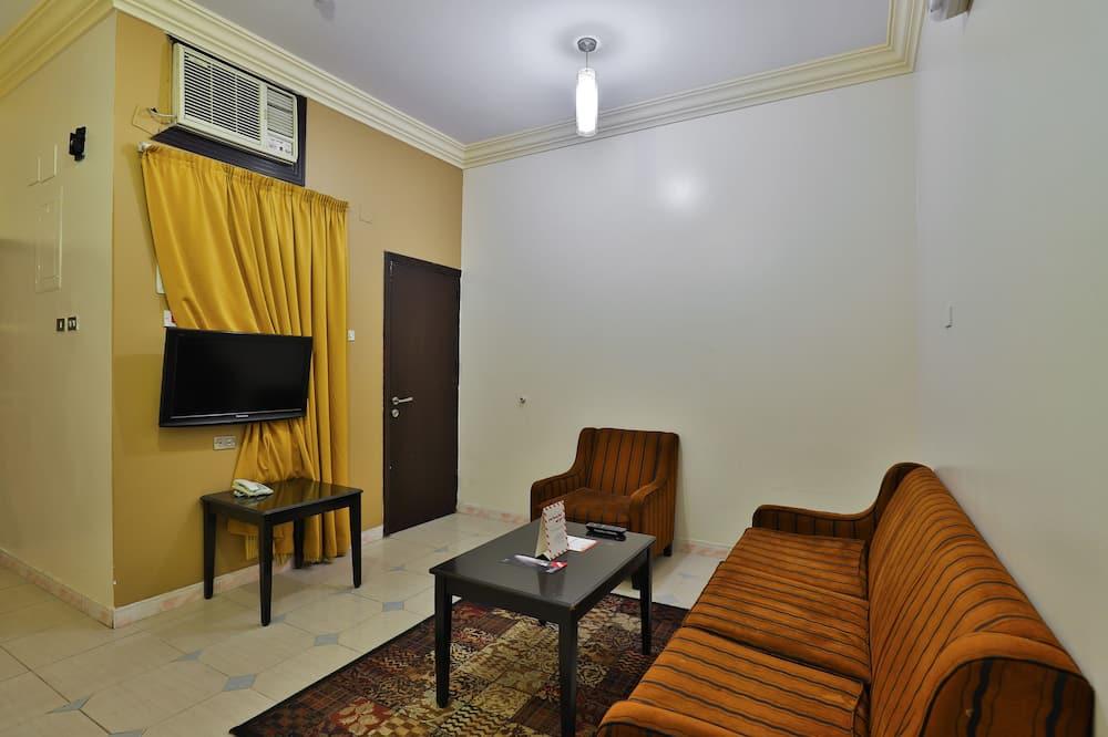 شقة ديلوكس - غرفتا نوم - غرفة معيشة