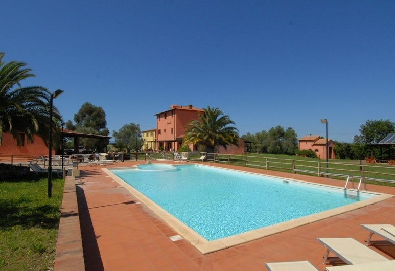 Agriturismo Brancatelli, Piombino, Vonkajší bazén