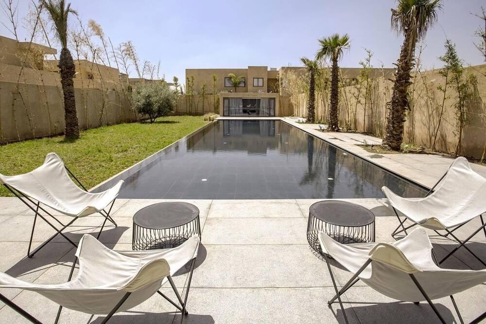 Deluxe-villa - 6 soveværelser - privat pool - Privat pool