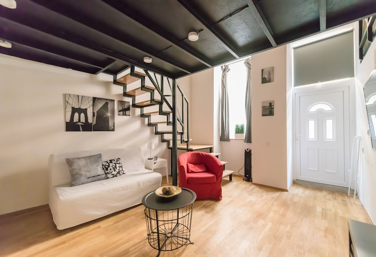 Oasis Apartments - Akacfa Street Studios, Βουδαπέστη, Standard Στούντιο, Περιοχή καθιστικού