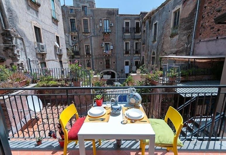 Apartment Downtown, Catania, Appartamento, 1 camera da letto, vista cortile, Terrazza/Patio