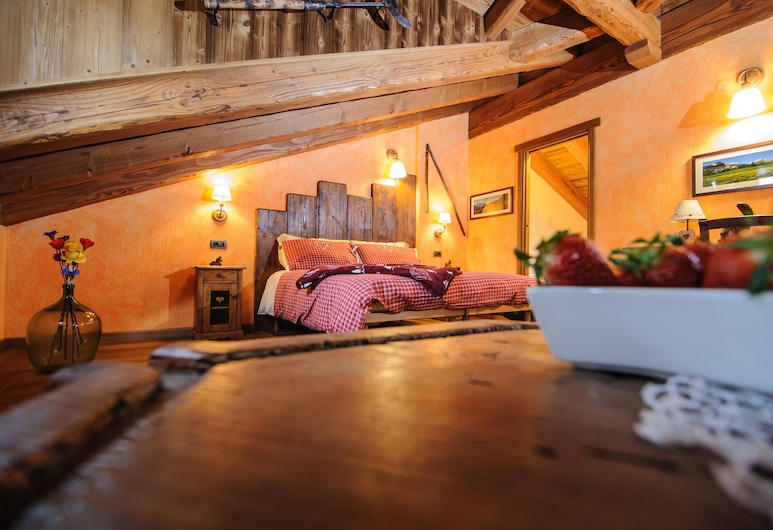 Clé du Paradis, Bionaz, Triple Room, Mountain View, Guest Room
