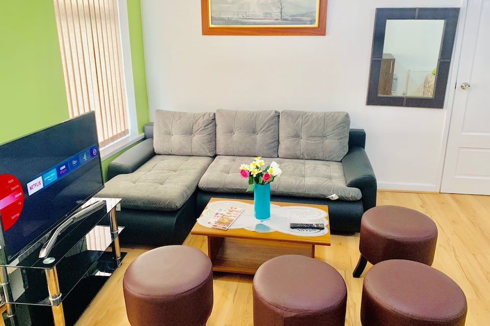 شقة عائلية - منطقة المعيشة