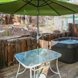 Kabin, 2 kamar tidur - Bathtub Spa Luar Ruangan