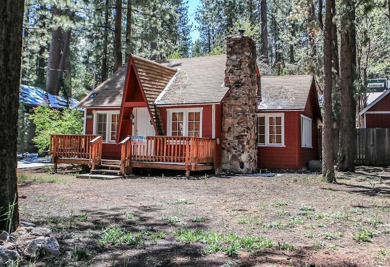 Nicole's Happy Place, Danau Big Bear , Kabin, 2 kamar tidur, Bagian depan properti