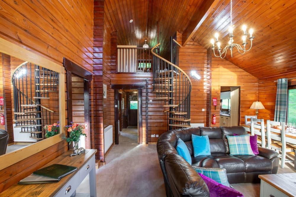 Pokoj, více lůžek - Obývací pokoj