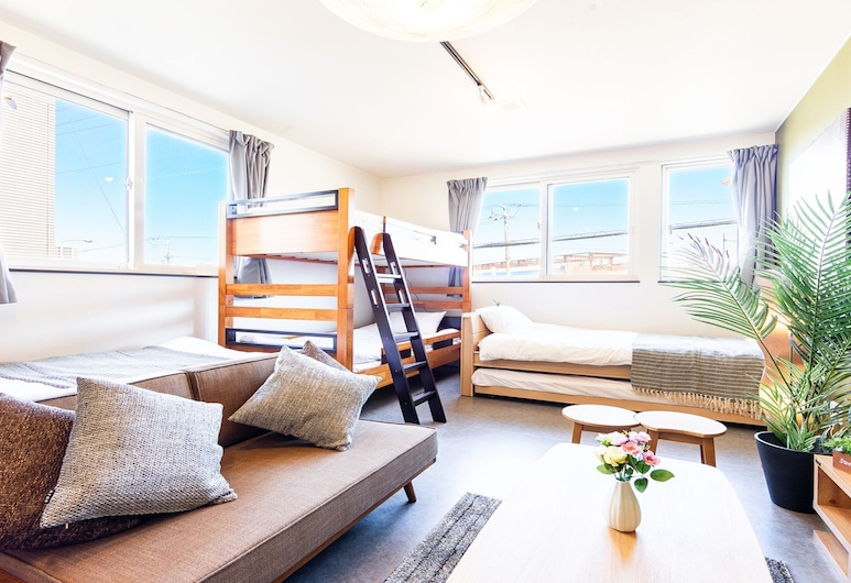 UCHI Living Stay HACHIKEN Station, Sapporo, Room4 Hachiken, Chambre
