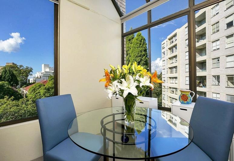HAMP1 - Bright Apartment in Cremorne, Cremorne, Apartamento, 1 Quarto, Varanda