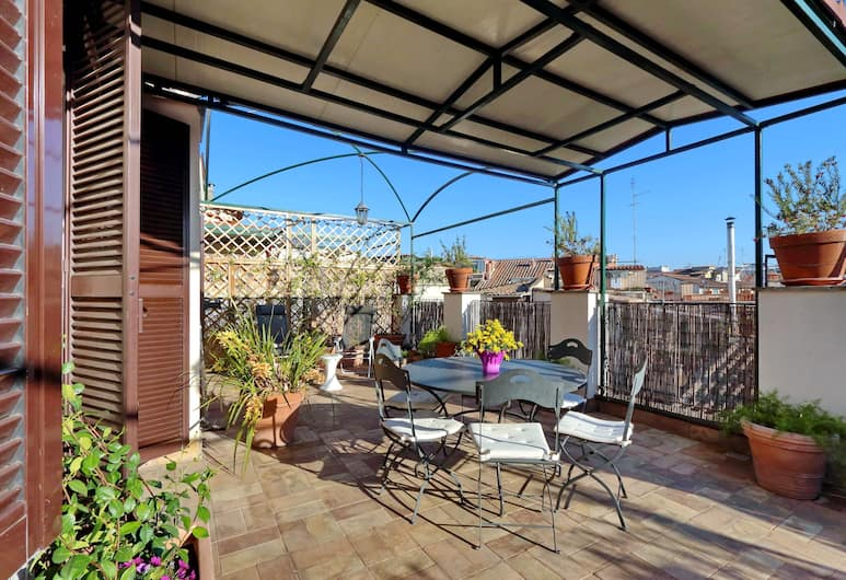 Borghese Penthouse - My Extra Home, Rome, Terrace/Patio
