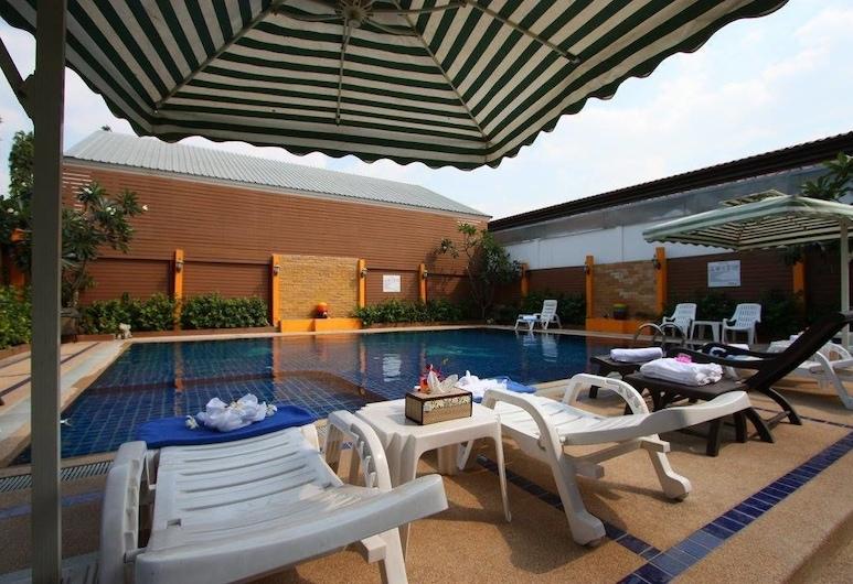 素可泰度假村, 芭堤雅, 日光浴平台