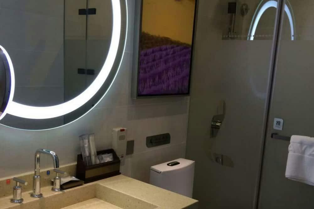 غرفة ديلوكس بسريرين منفصلين - منظر للمدينة - حمّام