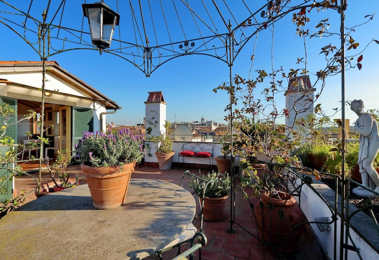 Borghese PenthouseStudio - My Extra Home, Rom, Superior-studiolejlighed, Terrasse/patio