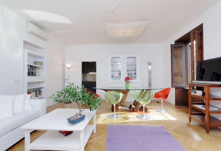 Condotti Charme - My Extra Home, Roma, Appartamento, 2 camere da letto, Area soggiorno