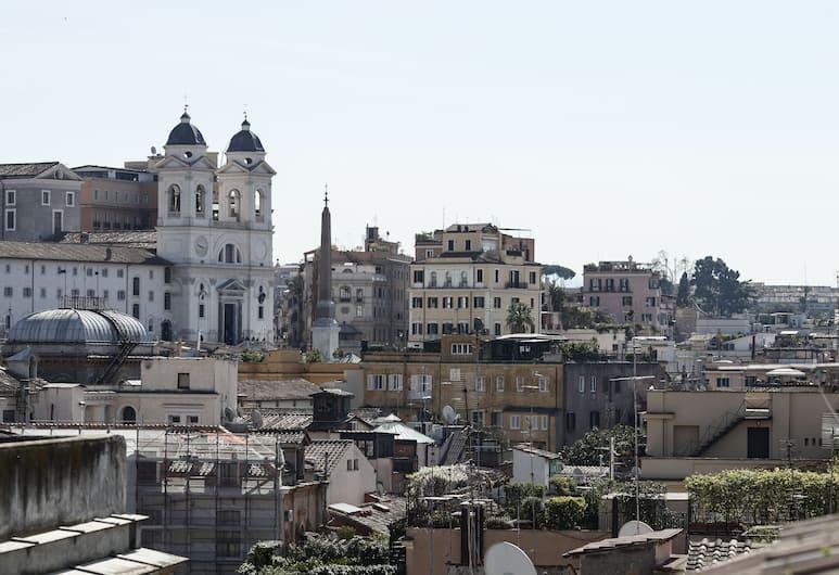 Cozy Margutta - My Extra Home, Roma, Appartamento panoramico, 1 camera da letto, vista città, Vista dalla camera