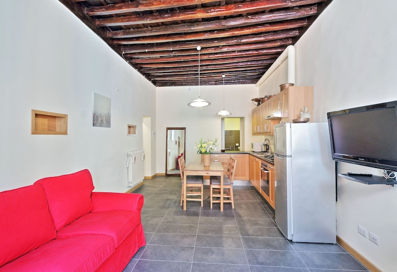 Cozy San Martino - My Extra Home, Rome, Apartment, 1 Bedroom, Living Area
