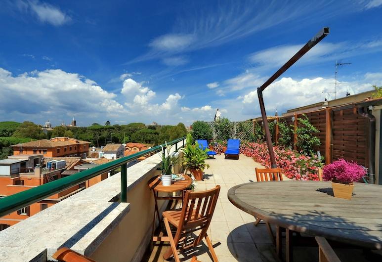 梅斯納特迷人酒店 - 我的家外之家, 羅馬, 全景公寓, 1 間臥室, 城市景, 陽台