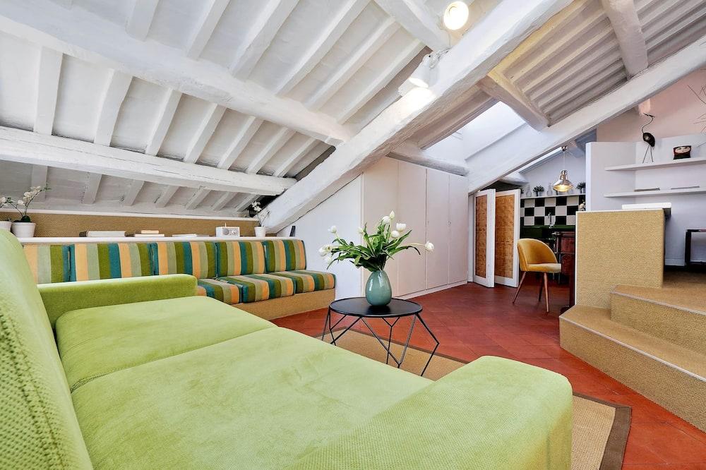 Departamento, 1 habitación, terraza - Sala de estar