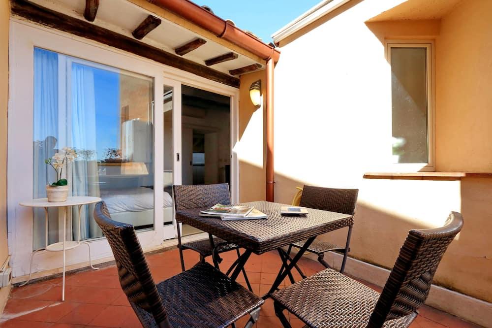 Departamento, 1 habitación, terraza - Terraza o patio