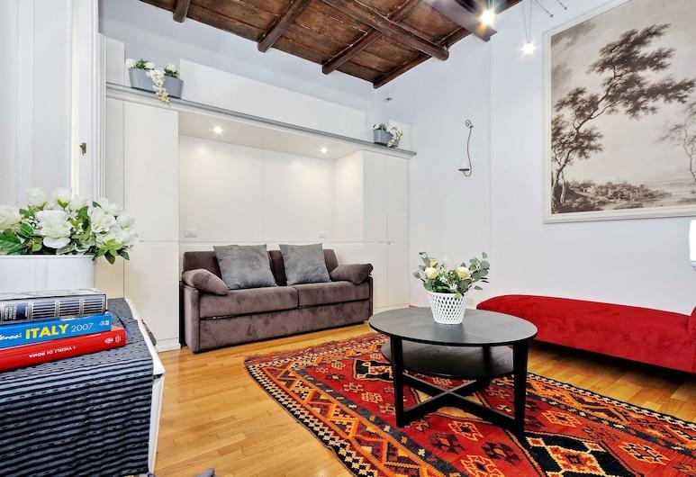 Palatino Charme - My Extra Home, Rom, Apartment, 1 Bedroom, Ruang Tamu