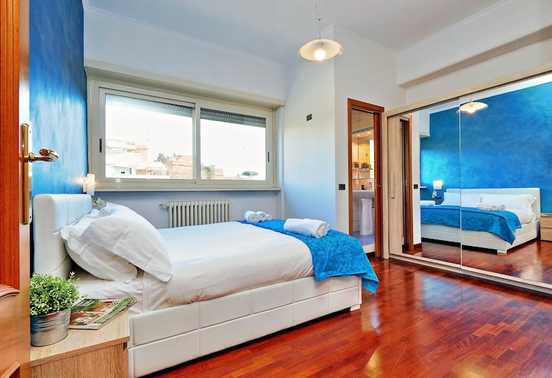 Pamphili Charme - My Extra Home, Roma, Apartemen, 2 kamar tidur, pemandangan kota, Kamar