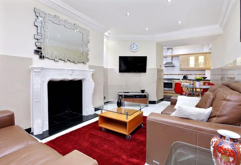 PML Apartments Gloucester Place, Londres, Departamento, 1 habitación (Flat 2), Sala de estar