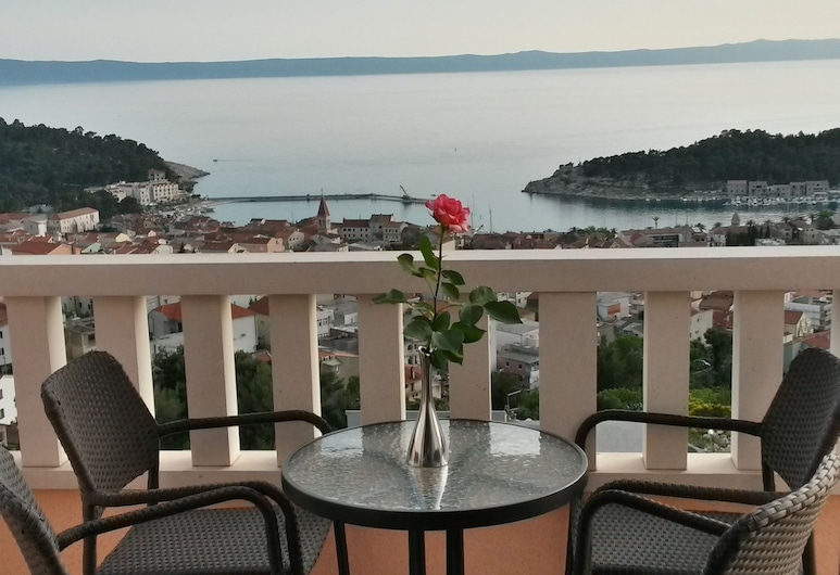 Apartmani Rasic, Makarska, Apartment, 1 Bedroom, Sea View, Balcony