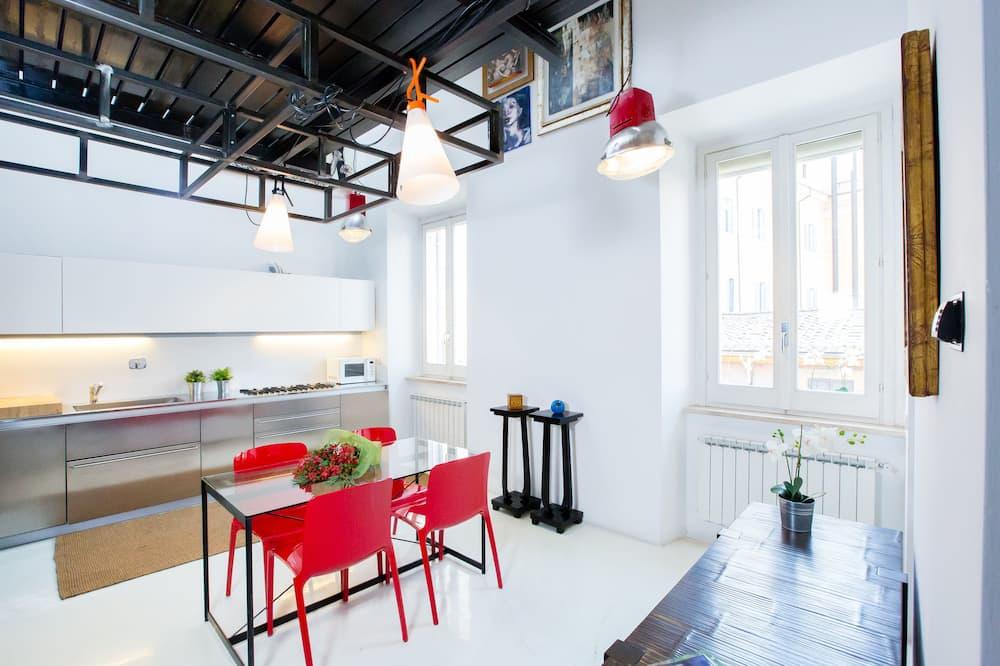 Duplex, 1 Bedroom - Private kitchen