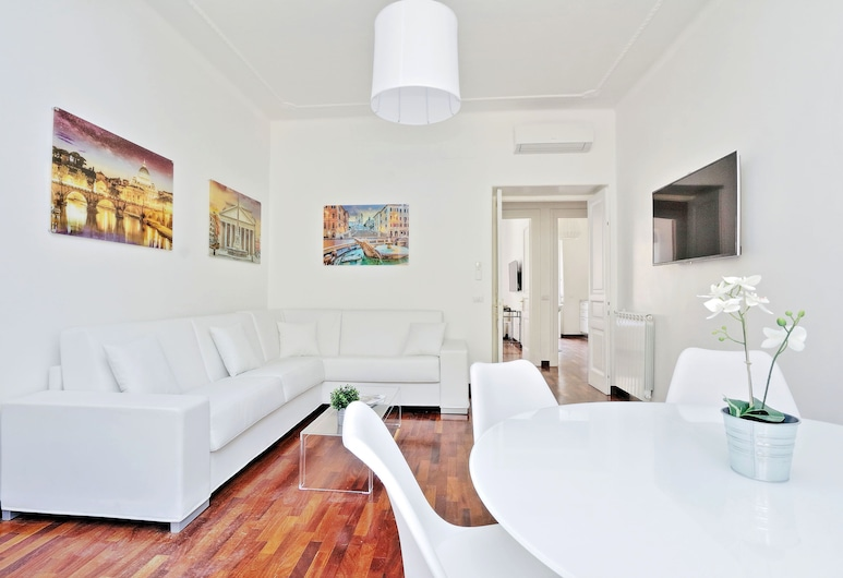 Vatican LuxApartBalcony - My Extra Home , Rome, Apartment, 2 Bedrooms, Living Area