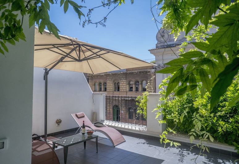 Trastevere Townhouse - My Extra Home, Rome, Apartment, 2 Bedrooms, City View, Terrace/Patio