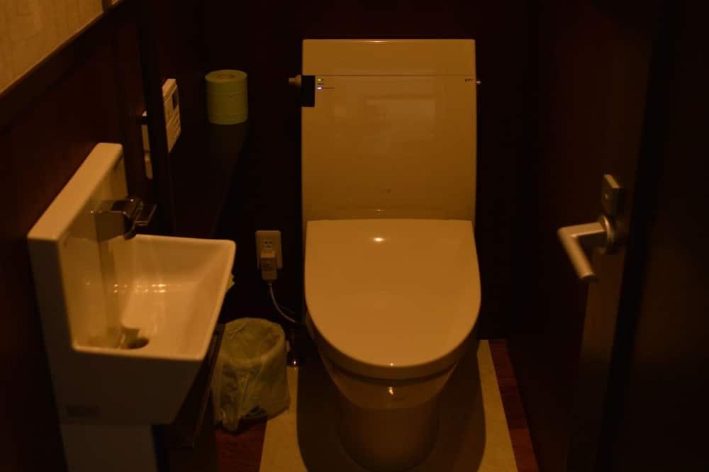 Dom, nefajčiarska izba, spoločná kúpeľňa (Vacation Rental) - Kúpeľňa