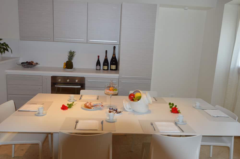 Deluxe Apart Daire, 3 Yatak Odası, Mutfak, Şehir Manzaralı - Oturma Alanı