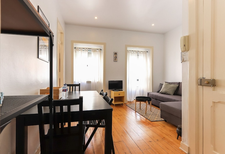 Cosy Alcantara by Homing, Lisabon, Apartmán, 1 spálňa, Obývacie priestory