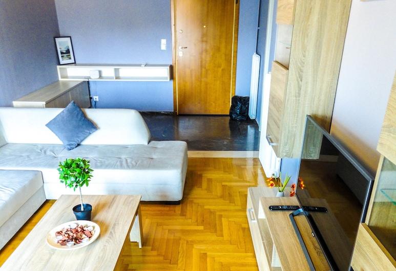 Grateful Apartment near Syntagma Square, Ateena, Aulan oleskelutila
