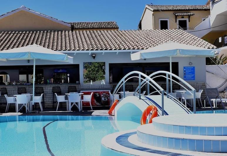 卡利梅拉公寓酒店, 科孚島, 池畔酒吧