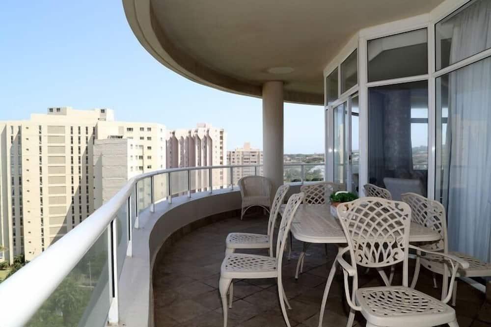 Luxusní apartmán, 3 ložnice - Balkón