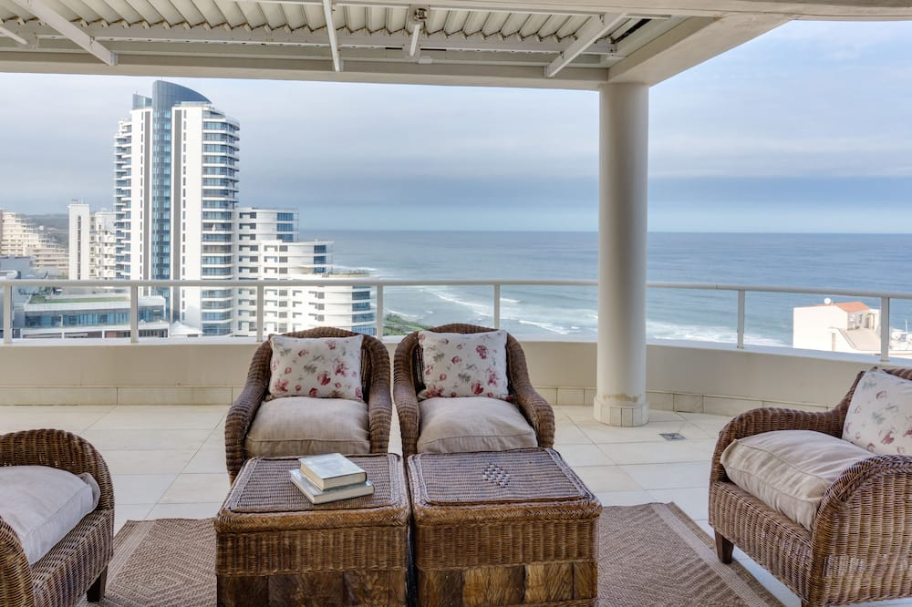 Penthouse Luxe, 4 chambres - Terrasse/Patio