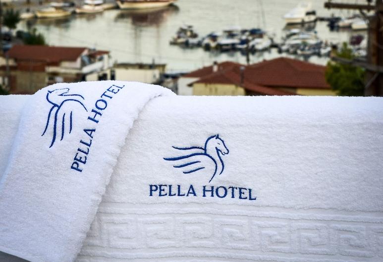 Pella Hotel, Sithonia, Quarto Duplo Básico, 1 cama de casal, Vista Mar, Exterior