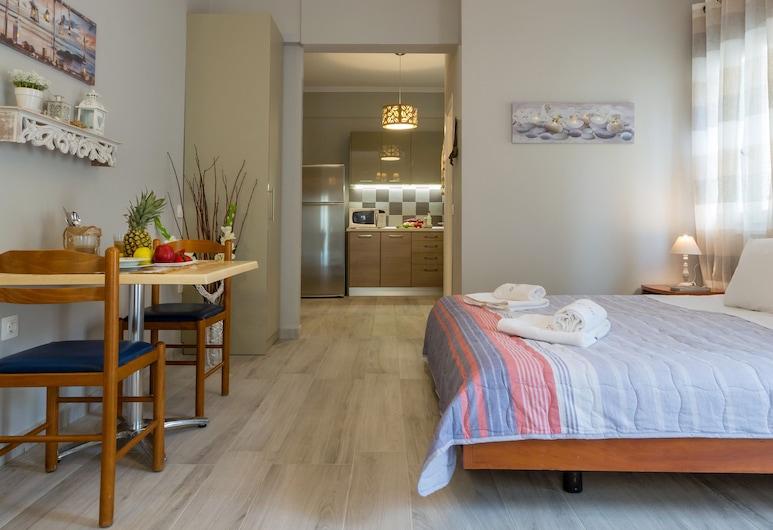 Casa Voula, Κέρκυρα, City Διαμέρισμα, 1 Υπνοδωμάτιο, Μπαλκόνι, Θέα στην Πόλη, Περιοχή καθιστικού