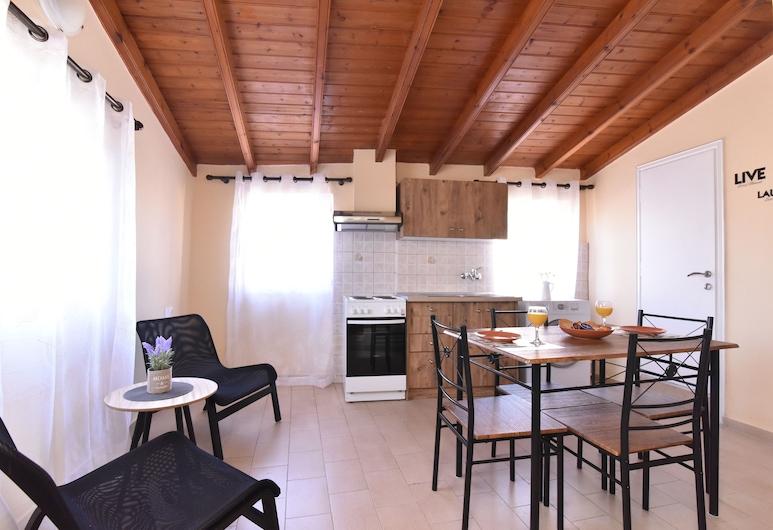 Marialena Apartment, Κέρκυρα, Διαμέρισμα, 1 Υπνοδωμάτιο, Περιοχή καθιστικού