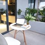 Superior-Studio, Balkon - Blick vom Balkon