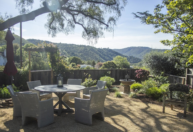 Pepper Tree Cottage Panoramic Views of Carmel Valley Walking Distance to the Village, Carmel Valley, Varanda