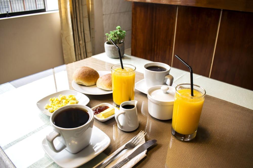Dvojlôžková izba - Raňajky