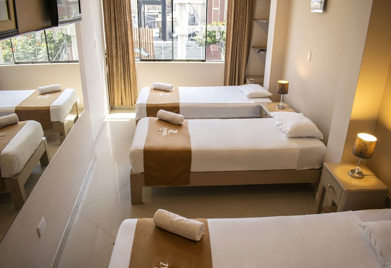 Zentra Hotel, Chiclayo, Triple Room, Bilik Tamu