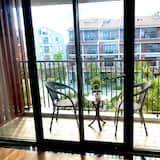 Obiteljski apartman, 2 queen size kreveta, pogled na park - Pogled s balkona